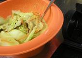 白菜と豚バラ肉のクリームカレー