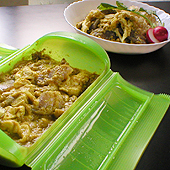 鶏ムネ肉とコンニャクのヘルシーカレー
