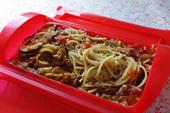 カレーミートソーススパゲティ