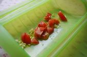 フレッシュトマトとひよこ豆のチキンカレー