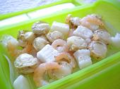シーフード豆乳カレー