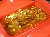 中華風 豚肉とザーサイのカレー