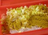 カレー風味のしらたきサラダ