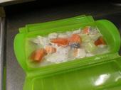 里芋と鮭のカレー